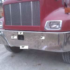 Peterbilt 330 High Tow Hitch Bumpermaker