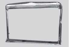 INTERNATIONAL NAVISTAR 9300 SFA 1984 AND UP GRILLE TRIM STAINLESS DIG0860A.JPEG