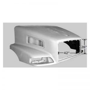 VOLVO VNM HOOD REPLACEMENT FOR 1998-2003 MODELS. AFTERMARKET VOLVO VNM HOOD.